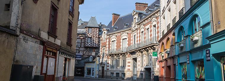 Rennes, Western France