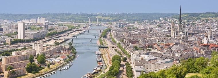 Rouen, Western France